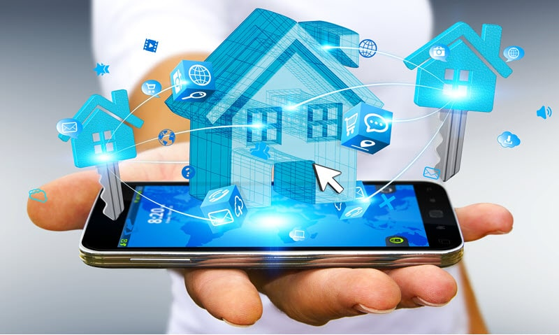 Real estate technology concept