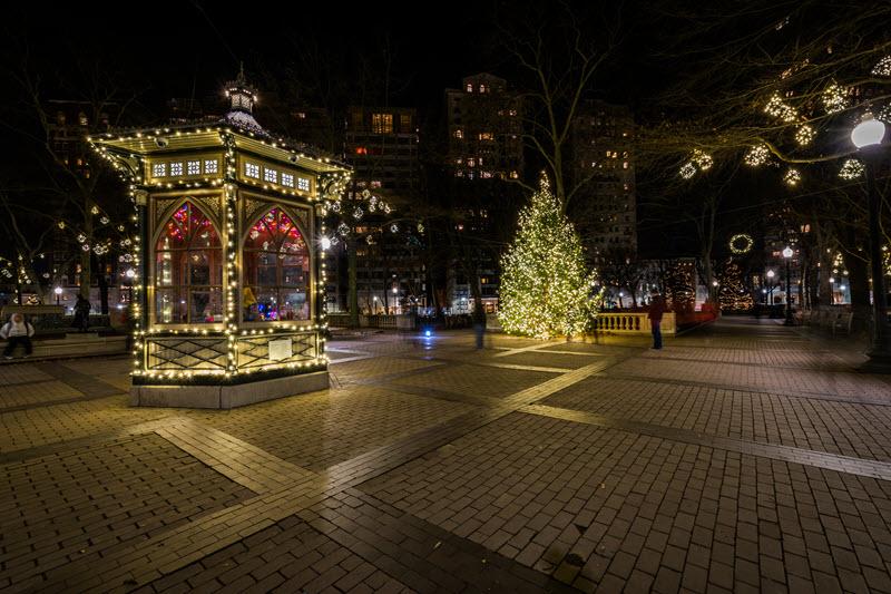 Rittenhouse Square gazebo